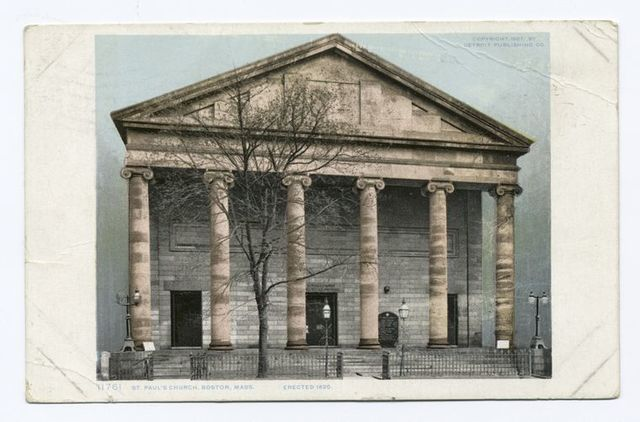 St. Pauls' Church, Boston, Mass.