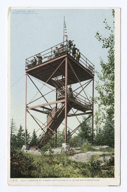 Steel Tower on Mt. Agazziz, Bethlehem, N.H.