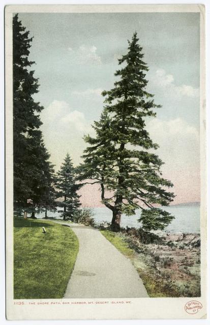 The Shore Path, Mt. Desert Island, Bar Harbor, Me.