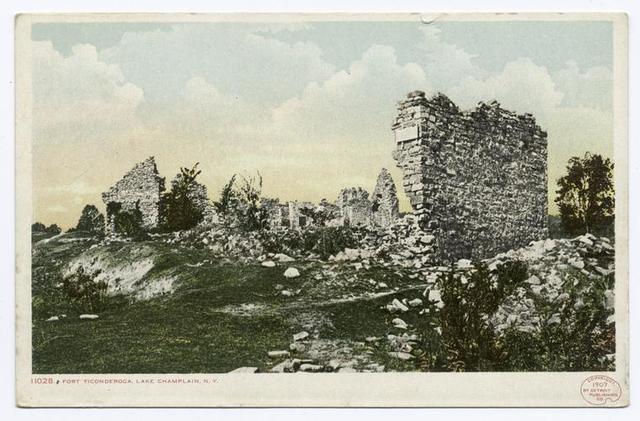 View of Ruins, Ticonderoga, N.Y.