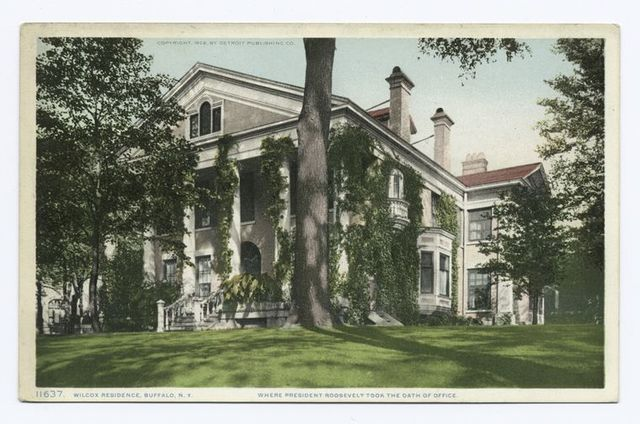 Wilcox Residence, where President T. Roosevelt took office, Buffalo, N.Y.