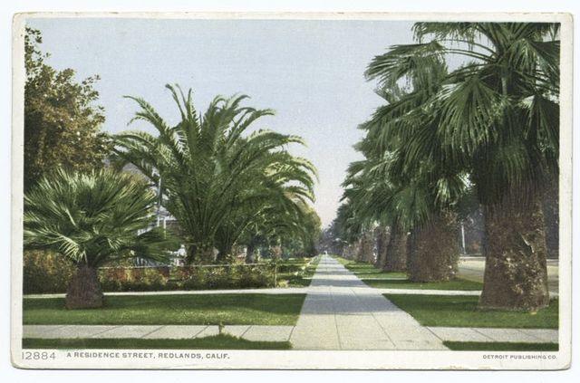 A Residence Street, Redlands, Calif.