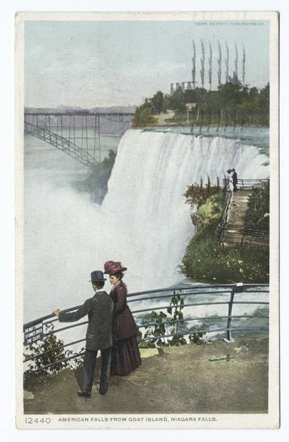 American Falls From Goat Island, Niagara Falls, N. Y.