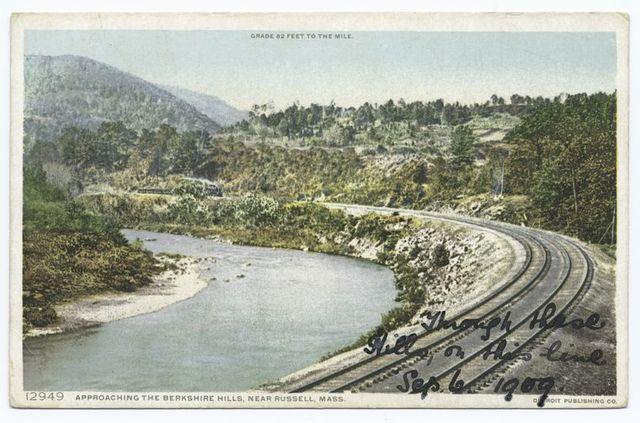 Approaching the Berkshire Hills, Russell, Mass.