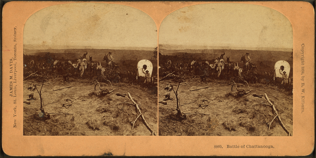 Battle of Chattanooga.