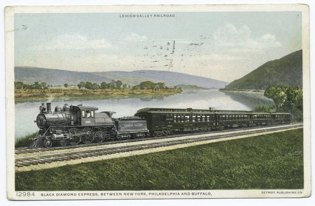 Black Diamond Express between New York, Philadelphia, Buffalo