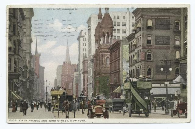 Fifth Avenue and 42nd Street, New York, N. Y.