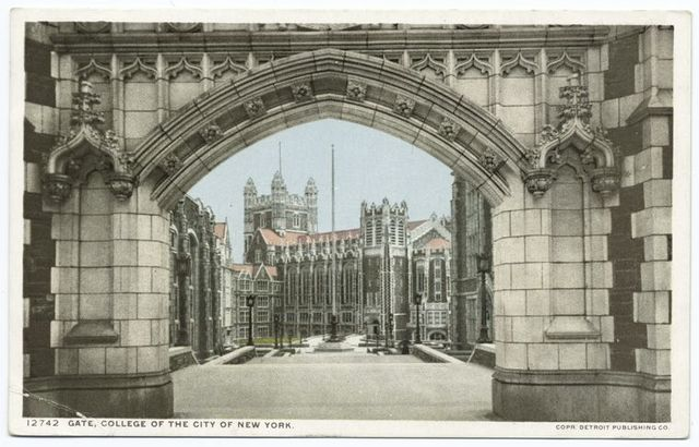 Gate, College of the City of New York, New York, N.Y.