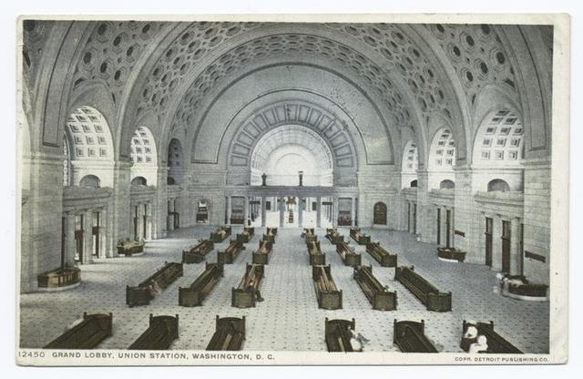 Grand Lobby, Union Station, Washington, D.C.