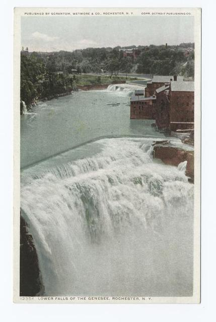 Lower Falls of the Genesee, Rochester, N. Y.