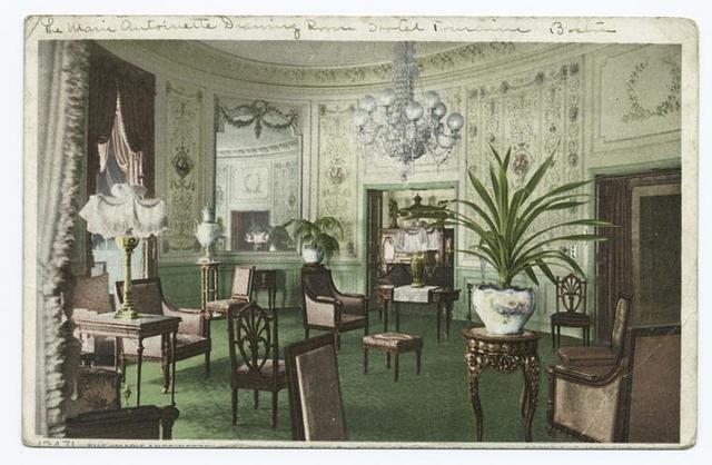 Marie Antoinette Room, Hotel Touraine, Boston, Mass.