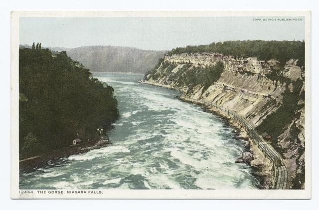 Niagara, the Gorge, Niagara Falls, N. Y.