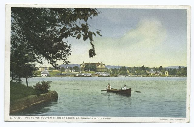 Old Forge, Fulton Chain, Adirondack Mountains, N.Y.