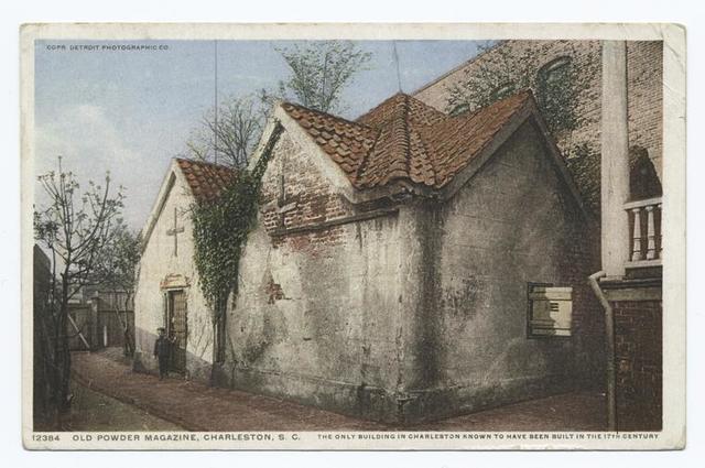 Old Powder Magazine, Charlestown, S. C.