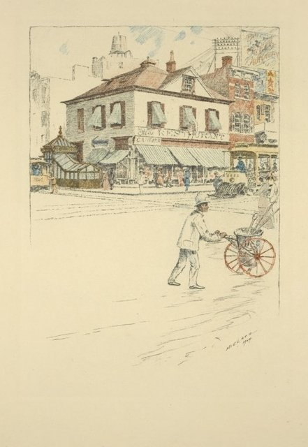 Peter Cooper's house, Fourth Avenue and Twenty-eighth Street, 1904.