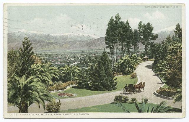 Redlands from Smiley's Heights, Redlands, Calif.