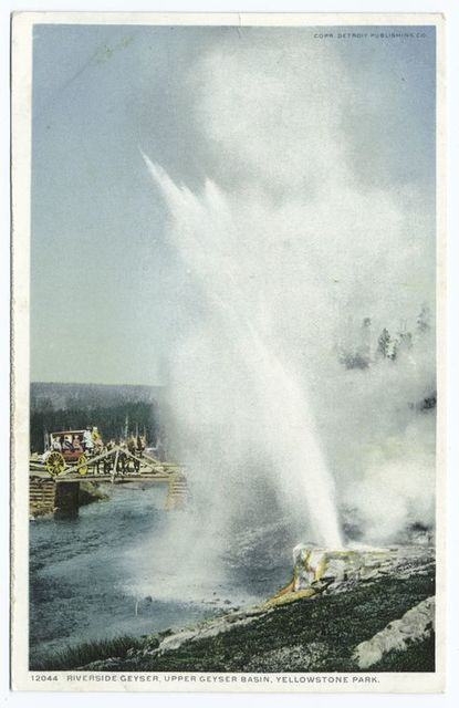 Riverside Geyser, Yellowstone Ntl. Park, Wyo.