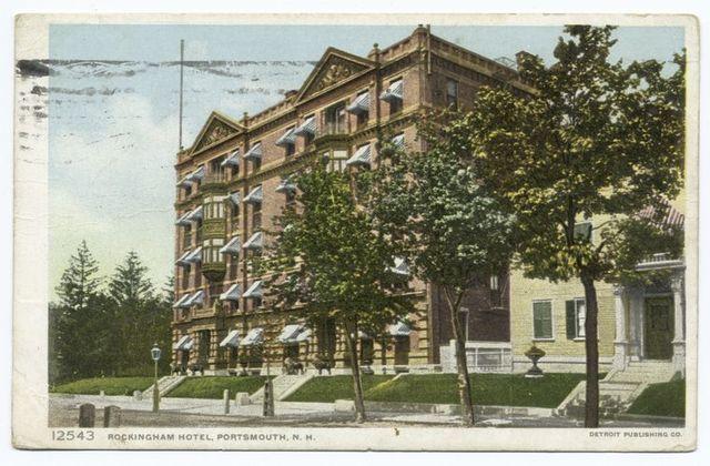 Rockingham Hotel, Portsmouth, N. H.