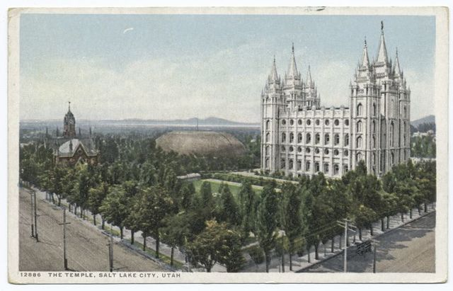 The Temple, Salt Lake City, Utah