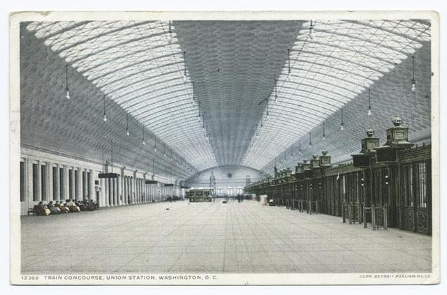 Train Concourse, Union Station, Washington, D. C.