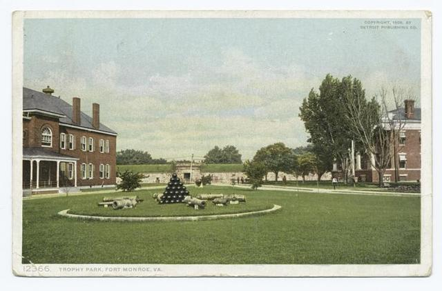 Trophy Park, Fortress Monroe, Va.