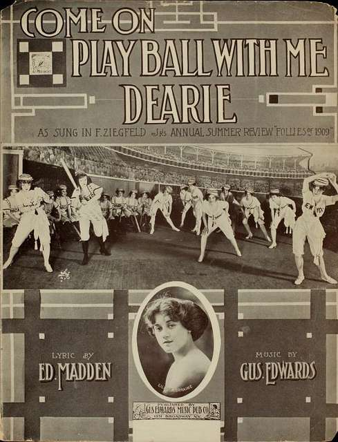 Come on play ball with me dearie