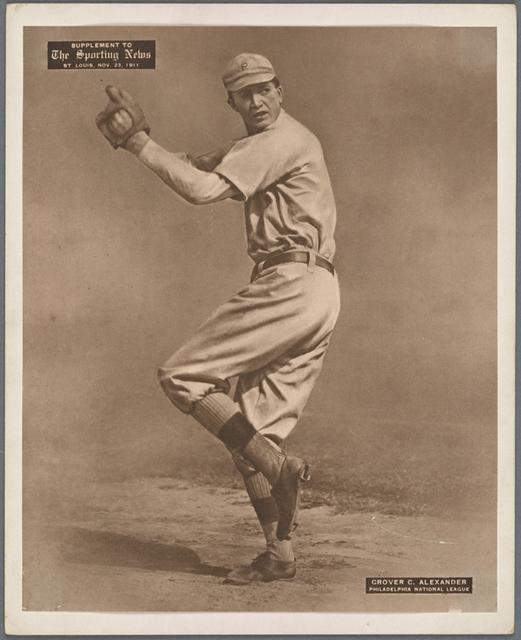 Grover C. Alexander, Philadelphia National League.