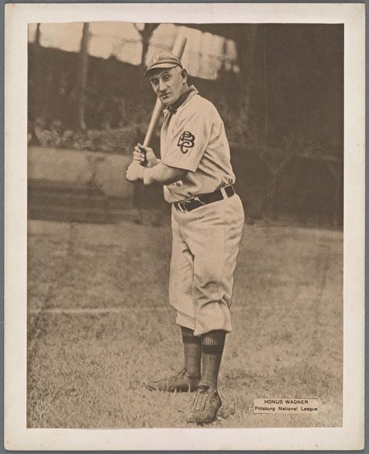 Honus Wagner, Pittsburg National League.