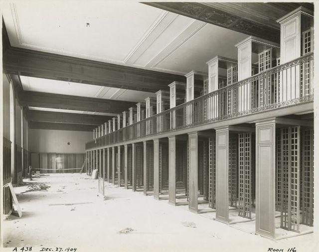 Interior work : Patents Division, room 116.