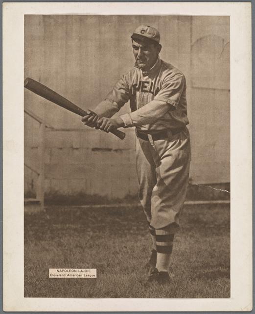 Napoleon Lajoie, Cleveland American League.