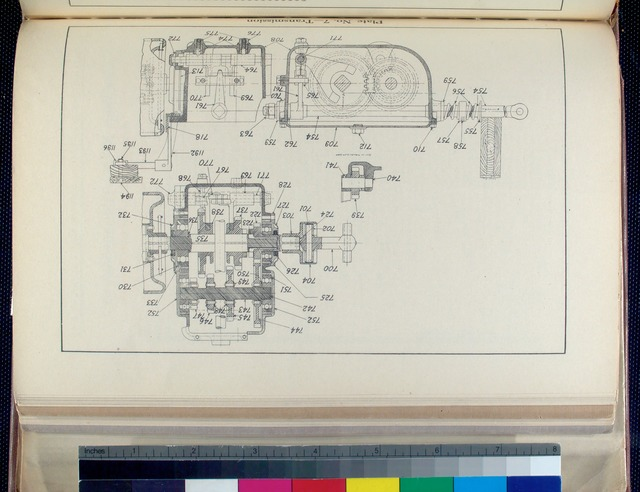 Plate No. 7 - Transmission [Drawing].