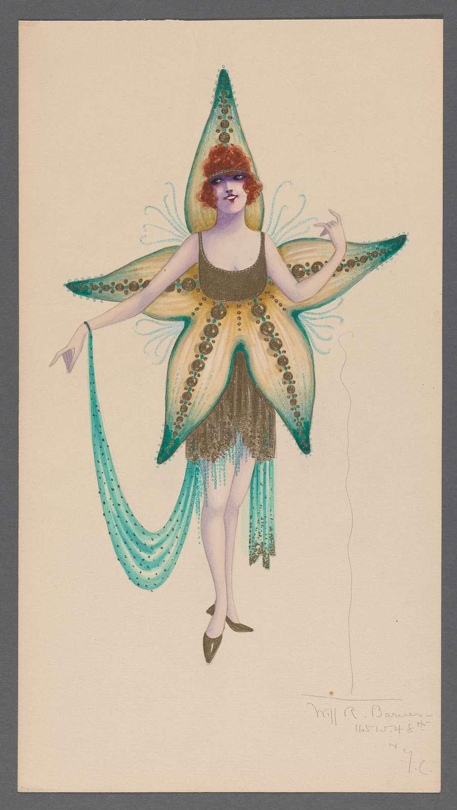 Starfish costume