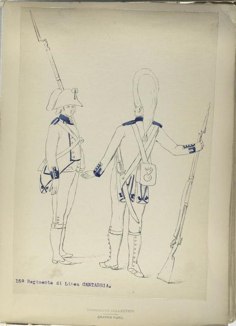 15-o Regimento di Linea CANTABRIA. [1806]