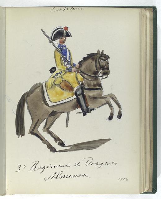 3-o Regimento de Dragones ALMANSA (1806)