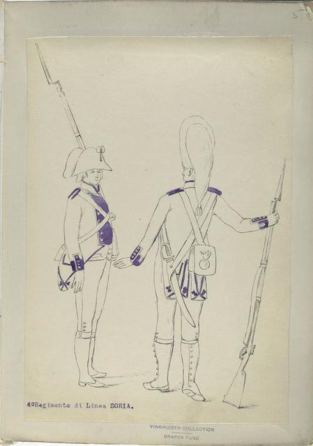 4-o Regimento di Linea SORIA.  [1806]