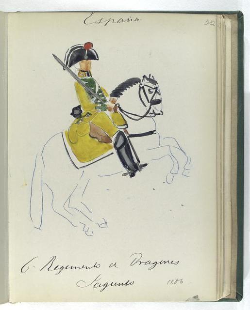 6-o Regimento de Dragones SAGUNTO (1806)