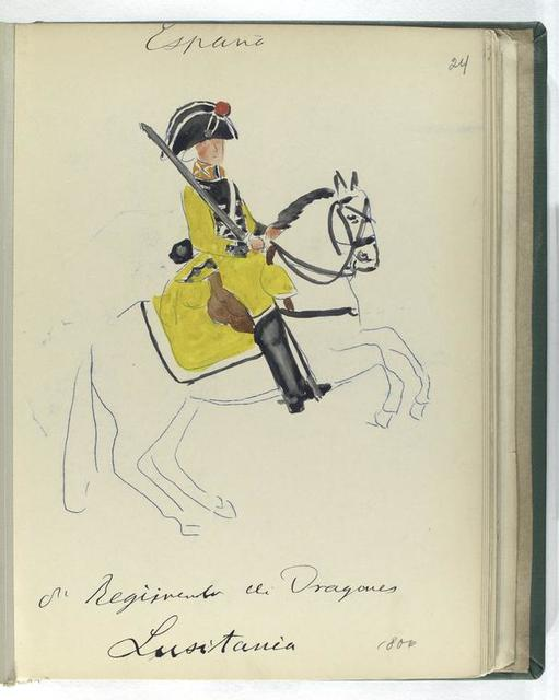 8-o Regimento de Dragones LUSITANIA (1806)