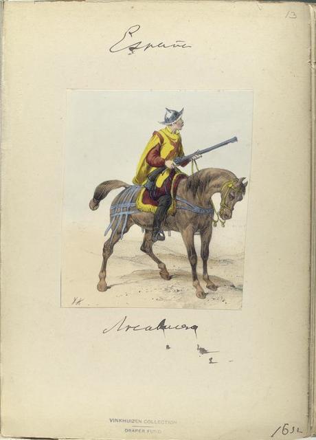 Arcabucero. 1632