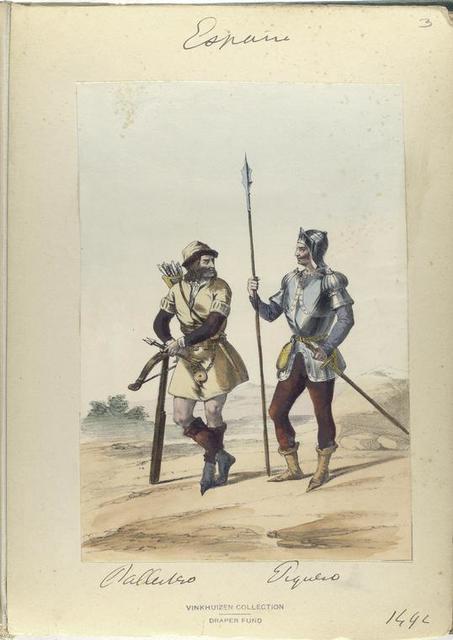 Ballestero; Piquero. 1492