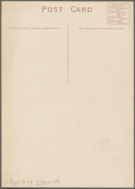 """Breakfast menu, S. S. """"Vaderland,"""" March 19th, 1910."""