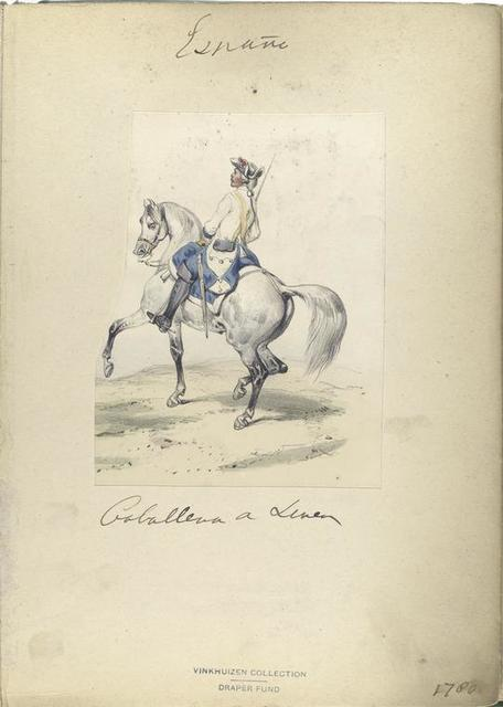 Caballero de linea. 1780