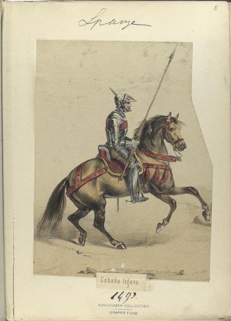 Caballo ligero.  1493