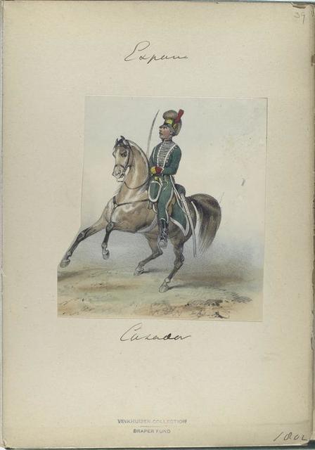 Cazador (1802).