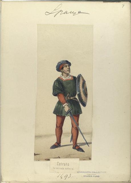 Cetrato, de mesnada señorial. 1493