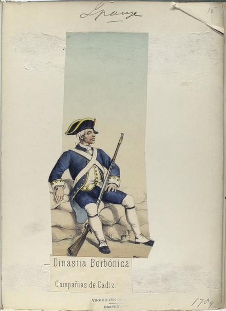 Dinastia Borbónica. Compañias de Cadiz. (1789)