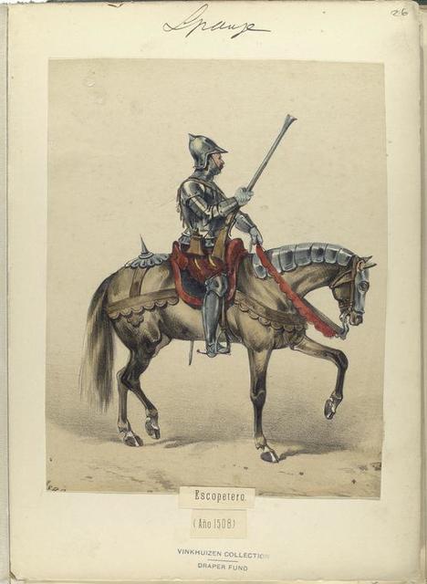 Escopetero (Año 1508).