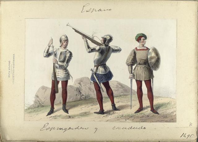 Espingarderos y Cetrato [?]  1495