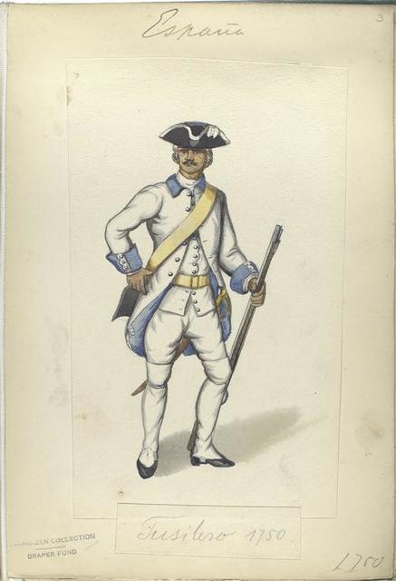 Fusilero. 1750