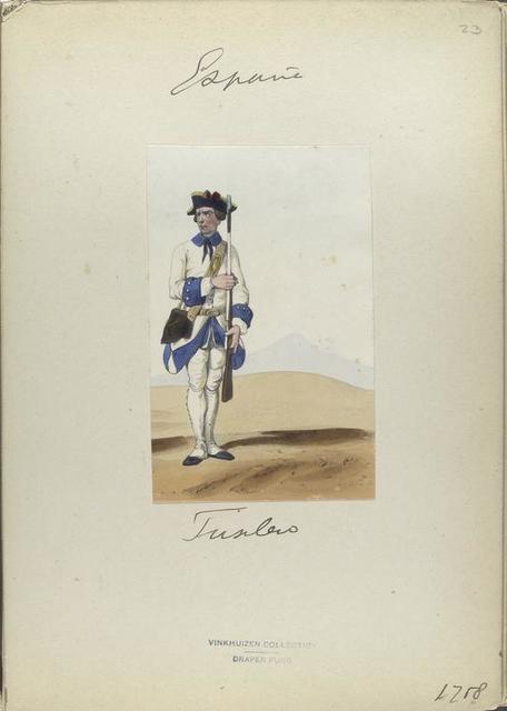 Fusilero. 1758