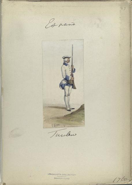 Fusilero. 1760